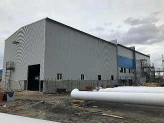 Metal-constructions for warehouse of Complex Gas Treatment Unit 2S